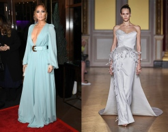 Jennifer Lopez to wear Antonio Grimaldi Fall 2019 Couture