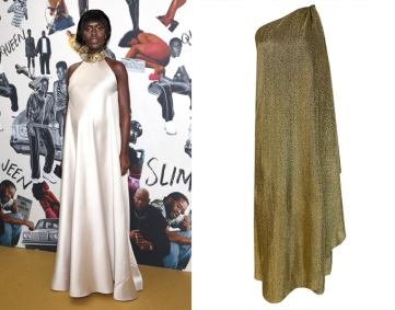 Jodie Turner Smith to wear 1978 Halston from Shrimpton Couture