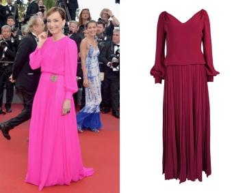 Kristin Scott Thomas to wear 1970's Pierre Balmain Haute Couture from Shrimpton Couture