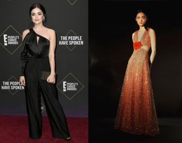 Lucy Hale to wear Markarian Pre-Fall 2020