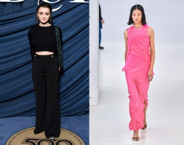 Maisie Williams to wear Helmut Lang Spring 2020 RTW