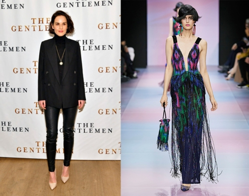 Michelle Dockery to wear Armani Prive Spring 2020 Couture