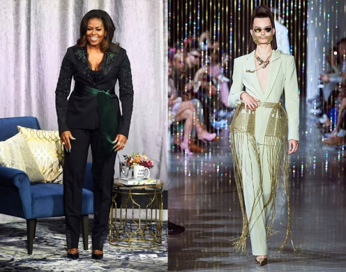Michelle Obama to wear Area NYC Spring 2020 RTW