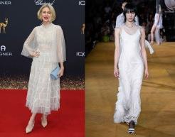 Naomi Watts to wear Burberry Spring 2020 RTW