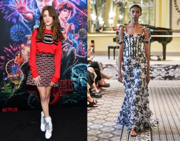 Natalia Dyer to wear Brock Collection Spring 2020 RTW
