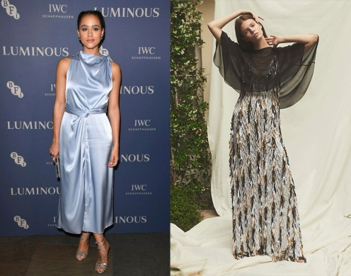 Nathalie Emmanuel to wear Julie De Libran Fall 2019 Couture