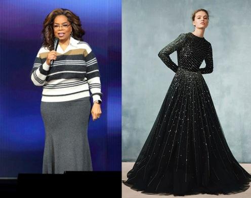 Oprah Winfrey to wear Monique Lhuillier Fall 2020 RTW