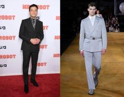 Rami Malek to wear Burberry Spring 2020 Menswear