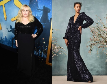 Rebel Wilson to wear Monique Lhuillier Fall 2020 RTW