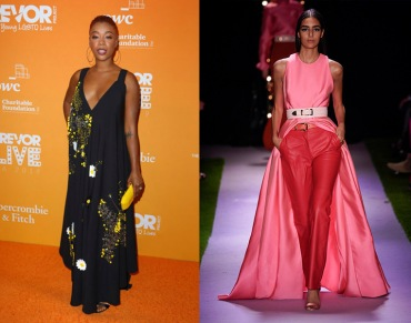 Samira Wiley to wear Brandon Maxwell Spring 2020 RTW