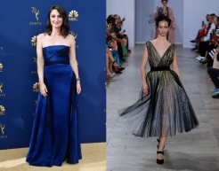 Sara Bareillis to wear Georges Chakra Fall 2019 Couturee