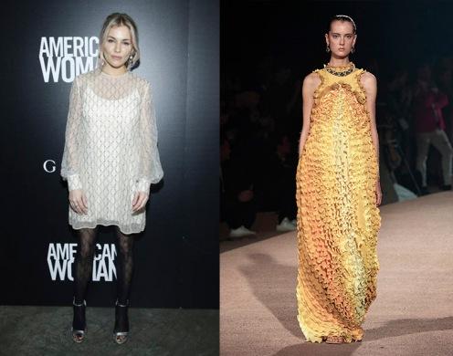 Sienna Miller to wear Mary Katrantzou Spring 2020 RTW