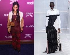 Zazie Beetz to wear Thom Brown Fall 2019 Menwear