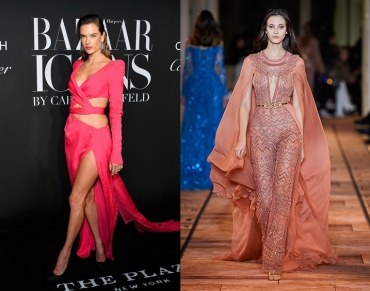 Alessandra Ambrosio to wear Zuhair Murad Spring 2020 Couture