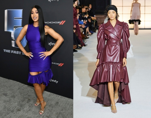 Cardi B to wear ADEAM Fall 2020 RTW