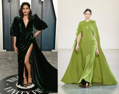 Freida Pinto to wear Bibhu Mohapatra Fall 2020 RTW