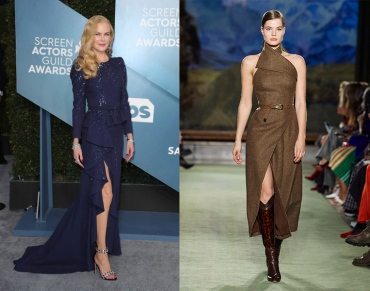 Nicole Kidman to wear Brandon Maxwell Fall 2020 RTW