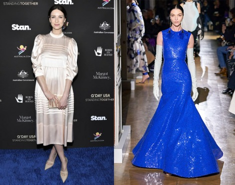 Caitriona Balfe to wear Valentino Spring 2020 Couture