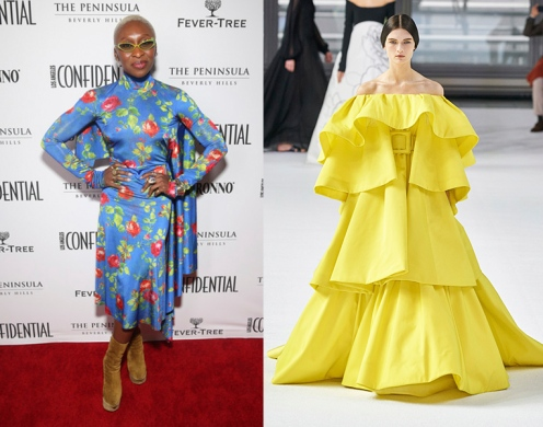 Cynthia Erivo to wear Carolina Herrera Fall 2020 RTW
