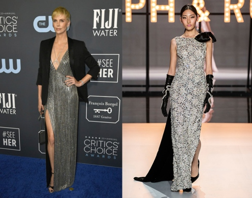 Charlize Theron to wear Ralph & Russo Spring 2019 Couture
