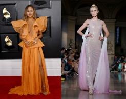 Chrissy Teigan to wear Rami Kadi Fall 2019 Couture
