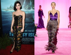 Lucy Hale to wear Christian Siriano Fall 2020 RTW