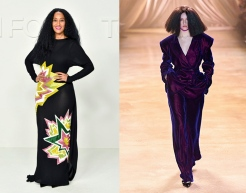 Tracee Ellis Ross to wear Christopher John Rogers Fall 2020 RTW