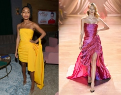 Yara Shahidi to wear Christopher John Rogers Fall 2020 RTW