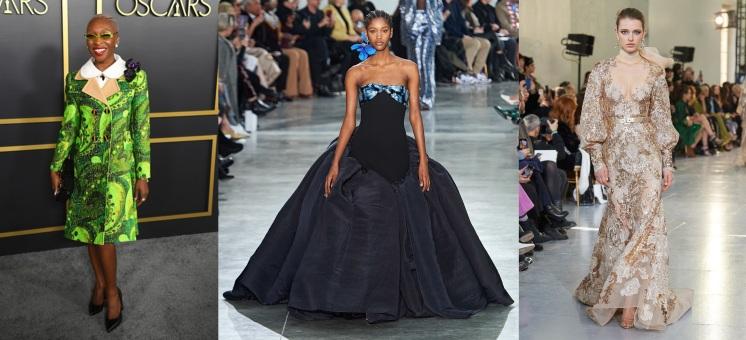 Cynthia Erivo to wear Schiaparelli Spring 2020 Couture & Elie Saab Spring 2020 Couture