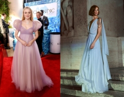 Dakota Fanning to wear Alberta Ferretti Limited Edition Spring 2020 Couture