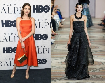 Emma Roberts to wear Armani Prive Fall 2019 Couture
