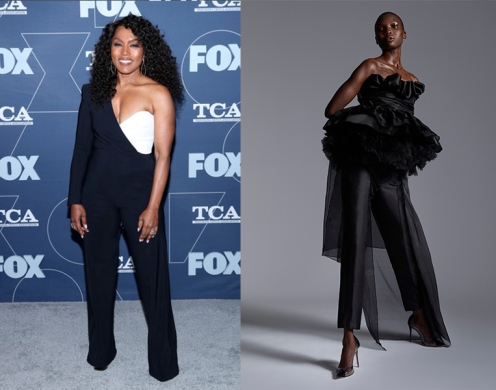 Angela Bassett to wear Greta Constantine Fall 2020 RTW