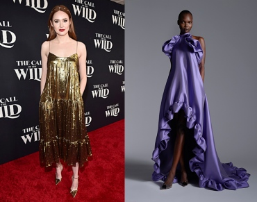 Karen Gillan to wear Greta Constantine Fall 2020 RTW