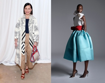 Lucy Liu to wear Greta Constantine Fall 2020 RTW