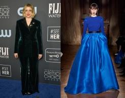 Greta Gerwig to wear Ronald Van Der Kemp Spring 2020 Couture