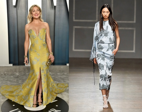 Kate Hudson to wear Hellessey Fall 2020 RTW