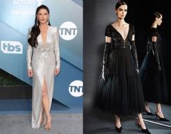 Catherine Zeta Jones to wear J. Mendel Fall 2020 RTW