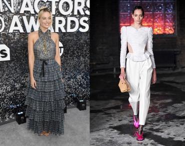 Margot Robbie to wear Khaite Fall 2020 RTW
