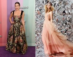 Lea Michele to wear Reem Acra Resort 2020