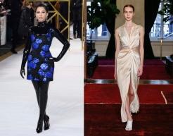 Naomi Scott to wear Marina Moscone Fall 2020 RTW