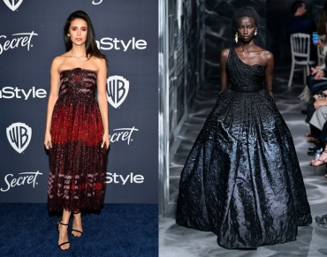 Nina Dobrev to wear Christian Dior Fall 2019 Couture