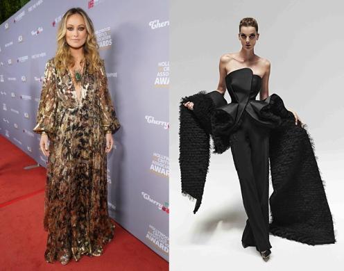 Olivia Wilde to wear Azzi & Osta Fal 2020 Couture