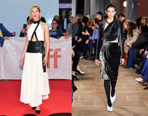 Rosamund Pike to wear Proenza Schouler Fall 2020 RTW