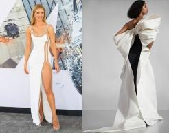 Rosie Huntington-Whiteley to wear Carolina Herrera Pre-Fall 2020