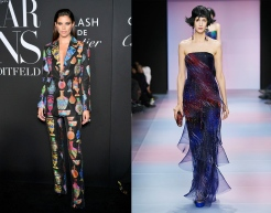 Sara Sampaio to wear Armani Prive Spring 2020 Couture