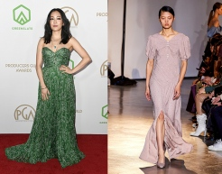 Constance Wu to wear Self-Portrait Fall 2020 RTW