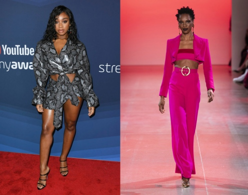 Normani to wear Sergio Hudson Fall 2020 RTW