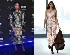 Zoe Saldana to wear Sies Marjan Fall 2020 RTW