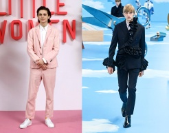 Timothee Chalamet to wear Louis Vuitton Fall 2020 Menswear