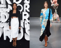 Naomie Harris to wear Tory Burch Fall 2020 RTW